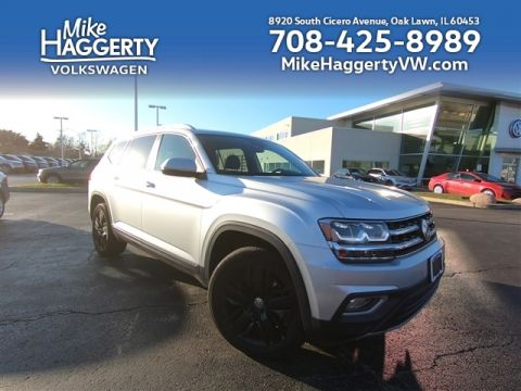 Pre-Owned 2019 Volkswagen Atlas V6 SEL 4Motion